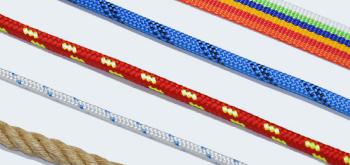 Textilní lana, popruhy